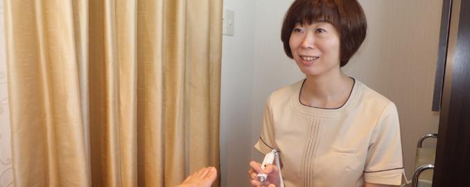 第3回 「1人1人に合わせた施術と接客の細やかさは、他とは違います。」<br> 篠宮寛子/青山店 店長
