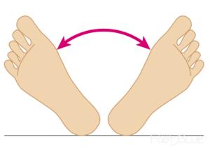 骨盤のゆがみのチェック方法